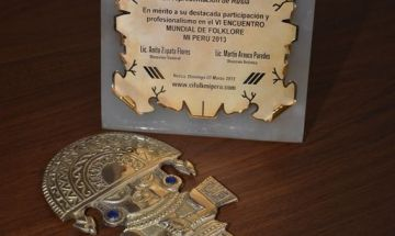 Образцовый ансамбль танца «Радуга» - признание лучшим коллективом и награда «Золотым сертификатом» в VI Всемирном конкурсе-фестивале хореографического творчества ЮНЕСКО, Перу, Латинская Америка