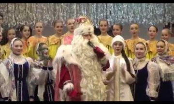 дед мороз в хореографической школе